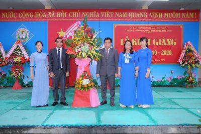 Trường THCS Lương Thế Vinh tổ chức Lễ khai giảng năm học mới 2018-2019