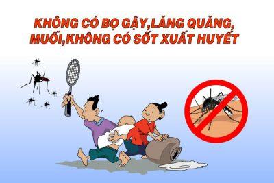 Trường THCS Lương Thế Vinh tiếp tục ra quân diệt lăng quăng, bọ gậy
